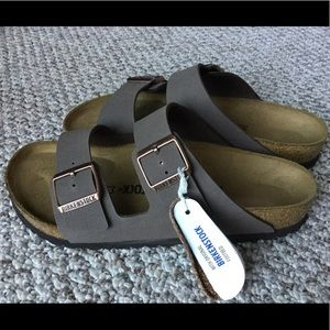 Birkenstock Arizona Men's Sandals in Mocha Size 41